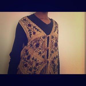 TURKISH VEST. Traditional patterned vest